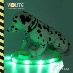 Los productos animales de compañía de seguridad reflectante, LED Correa Pet