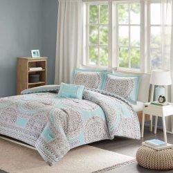Hauptbettduvet-gesetzter Baumwollduvet-Deckel 100% der textilbaumwolle4pcs