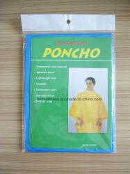 Синий PEVA Poncho/водонепроницаемый ТЕБЯ ОТ ВЕТРА И/PEVA/Poncho одежду