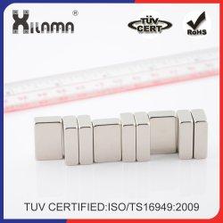 N52 ~ N35 強永久ネオジム磁気セグメントモータ産業磁石