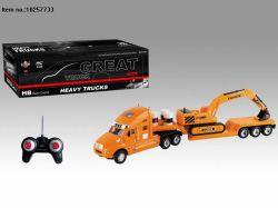 子供のためのライトが付いている4つの機能R/Cトラックのおもちゃ