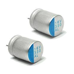 Leitendes Plastik-feste Kondensator CS Aluminiumschutzkappe Tmce31