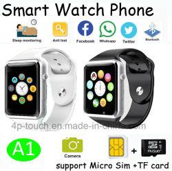 """Новейшая технология Bluetooth Smart посмотреть номер телефона с 1,54"""" сенсорный экран (A1)"""