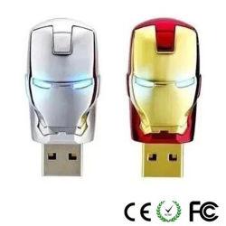 Disco istantaneo del USB di disegno del robot del metallo