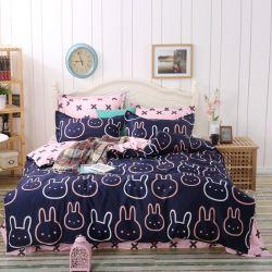 El precio barato impreso dormitorio más vendido Set edredón nórdico