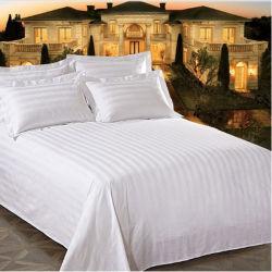 Hôtel Le linge de lit en coton jeu de feuilles de lit de bande