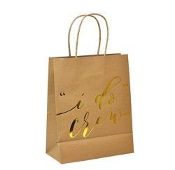 Многофункциональный канцелярские держатель с ручками и мягким бумажных мешков для пыли/21X15X8см / фестиваль подарочный пакет/ крафт-бумаги высокого качества