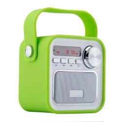 Draagbare de Sprekers van Bluetooth, 5W Draadloze OpenluchtSprekers met het Radio, Verre Controlemechanisme van de FM, Verbeterde Bas, Ingebouwde Mic, Micro- van de Steun TF BR Kaart, USB Inp