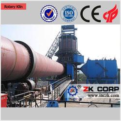 50-1000tpd de cal de la capacidad de la planta de calcinación con máquina de producción