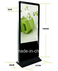 Dedi Indoor 55 Inch Digital Signage kiosque de l'écran LCD