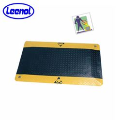 Anti-Fatigue ESD Tapis de sol PVC mousse EPDM Anti-Fatigue-de-chaussée
