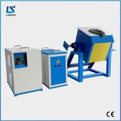 低価格チルトメタル溶解機、回転可溶着炉付き