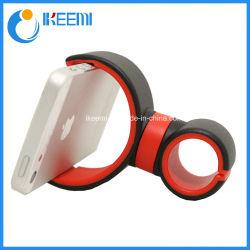 Rotação de 360 graus Universal Car do respiro de ar de borracha do suporte do telefone suporte telefone