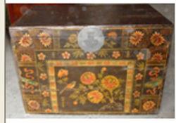 Meubles anciens chinois tronc en bois
