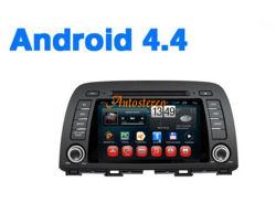 Android 4.4 Mazda CX-5 6 de 2013 alquiler de DVD GPS Navi