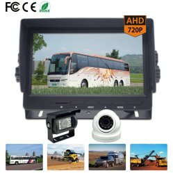Системы видеонаблюдения Системы камеры заднего вида с 7-дюймовый монитор с высоким разрешением 720p 1080P водонепроницаемый ночное видение на передней и CMOS CCD купольная камера