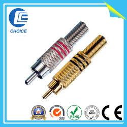 Conector plug/jack RCA (CH10172)