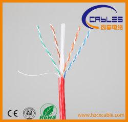 LANケーブル23AWG UTP CAT6の銅線、コミュニケーション有線放送網ケーブルのパスの肝蛭テスト高品質OEM