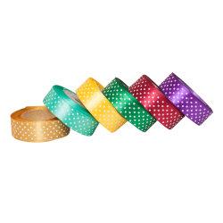 Petite MOQ Grossgrain ruban imprimé personnalisée en usine