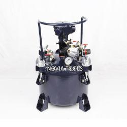 10litre /Qt 2.65 갤런 자동차 섞는 Agitated 압축 공기를 넣은 압력 페인트 그릇 또는 탱크 PT-10A