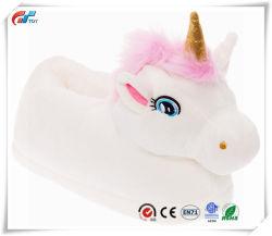 La novedad de peluche Animal Unicorn soporte de espuma de zapatillas