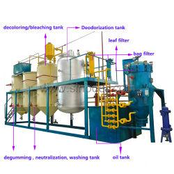 원유 세련의 식용유 정련소 장비 코프라 석유 정제 기계 비용