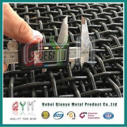 高い安全性のひだを付けられた鉄の金網の/Squareの穴スクリーンの網の価格