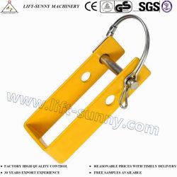 Charge lisse de couleur jaune pour la charge de verrouillage de Binder Binder