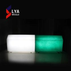 핫 세일 장식용 Wayside 플라스틱 스톤 컬러 LED 커브스톤