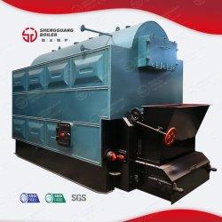 商業木によって発射される熱湯の誘導の水平の産業蒸気ボイラの価格