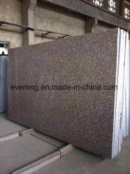 El chino G687 Rosa Melocotón Gangsaw losa de granito para escaleras / Granito / baldosas
