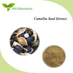 SGS van ISO verklaarde het Natuurlijke Uittreksel van het Zaad van de Camelia Oleifera met Saponien 60% van de Thee