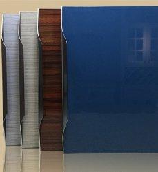 光沢度の高いアクリルの台所MDFのキャビネットドア
