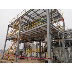 Процесс Glycerol Ing механизма промышленных отходов оборудование для переработки сырой Glycerol масла завод очистки