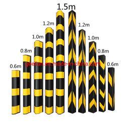 Protezione d'angolo di gomma ad alta resistenza giusta/angolo rotondo/del quadrato EVA della protezione d'angolo del garage di parcheggio di sicurezza della protezione molle di plastica riflettente della parete per il parcheggio