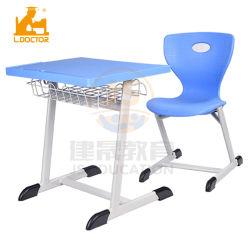 Escuela de Arabia Saudita silla de plástico y de la tabla para estudiantes