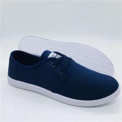 Inyección de bajo precio de los hombres zapatos casuales Zapatos Zapatos de lona (XY19705-4)