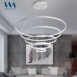 A poupança de energia 5 Lustres Projeto Arte pendurada Pingente moderno design de LED Lâmpada de Luz