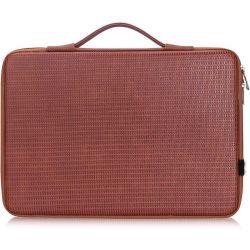 13,3 pulgadas de la forma de disco duro sólido cuero impermeable funda para portátiles maletas con Inner Net