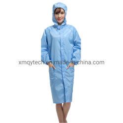 Cleanroom-antistatische Kleid-Laborkleid ESD-Schutzkleidung-Arbeitskleidungs-Kleidung
