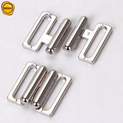 Sinicline 은 금속은 브래지어 15mm 수영복 부속품 기계설비를 정면 걸쇠로 걸는다