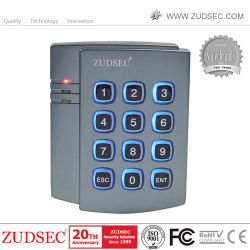 Mot de passe et le déverrouillage de carte autonome d'entrée de porte Serrure de porte de la RFID Intercom Système de contrôle d'accès