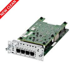 Nieuw Cisco nim-4FXO Cisco de 4-haven van de Router van het Netwerk van 4300 Reeksen de Module van de Interface van het Netwerk