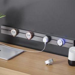 Büro-Schreibtisch-Energien-Spur-Systems-elektrische Kontaktbuchse-Anschluss/elektrische Spur für multi elektrische Kontaktbuchsen