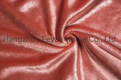 Venda a quente de poliéster e tecido de licra para senhoras vestido roupa de moda