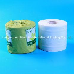 La pâte de bambou original ménage avec 3 couches de ménage de serviettes en papier papier de toilette de gros