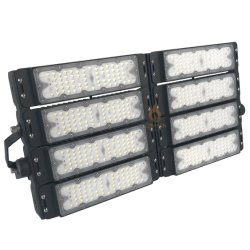 고성능 LED 높은 돛대 경기장 갱도 플러드 150lm/W는 옥외 점화 100W 200W 300W 400W 500W 600W를 위한 IP65 LED 빛을 방수 처리한다