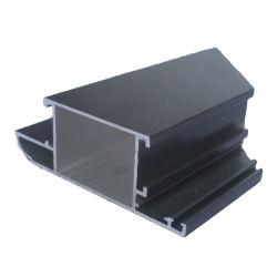 Slide de construção janelas e portas em pó de alumínio revestido (alumínio) Extrusão perfis extrudados de perfil da estrutura