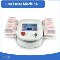 Ventre/bras supérieur minceur Lipo de diode laser 650nm périphérique pour le salon