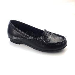 L'École de cuir noir Chaussures Chaussures étudiant